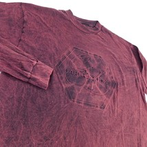 Garth Brooks Red Long Sleeve T Shirt Sz L Hanes Beefy T USA - $49.99
