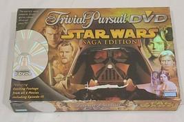 Star Wars Saga Edition Trivial Pursuit 2 DVD Trivia Game 2005 - $21.41