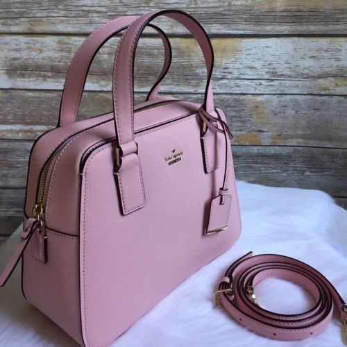 NWT Kate Spade Cameron Street Little Babe Satchel Pink Sunset  Leather $298
