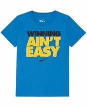 "Nike Boys "" Winning Ain't Easy"" T-Shirt 8MA835 - $12.00"