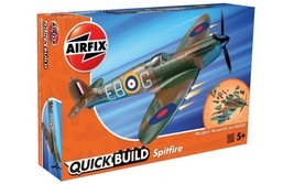 Airfix Quick Build Spitfire Plane Aircraft Model Kit Set Play Toy Boys C... - $25.86