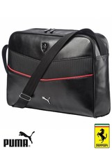 Puma Ferrari LS Reporter Bag Airliner Shoulder Messenger Bag 073942-01 -... - $64.73
