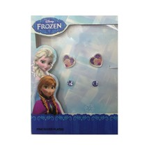 Disney Girl's Frozen Fine Silver Plated Anna and Elsa Heart Pendant - $29.69