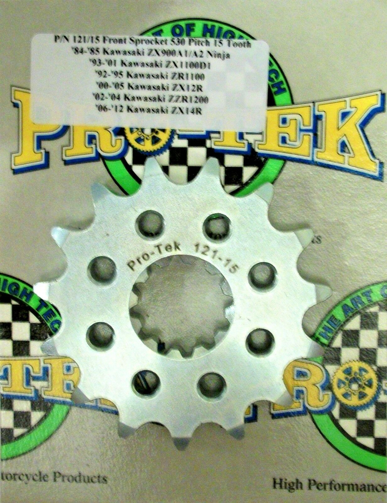 Primary image for Kawasaki Front Sprocket 530 Pitch 15T 16T 17T 18T 2000 2001 2002 Ninja ZX12R