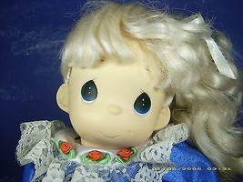 "PRECIOUS MOMENTS 16 INCH VINTAGE 1998 DOLL ""ANGELICA"" PM DOLL # 64836. NEW. - $14.85"