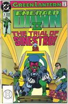 Green Lantern Emerald Dawn II Comic Book #6 DC Comics 1991 VFN/NEAR MINT... - $2.75