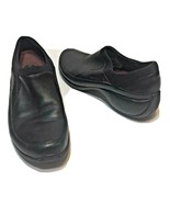 Merrell Q Form Spire Stretch Slip On Black Leather Shoes Women's Size 9 - $27.45