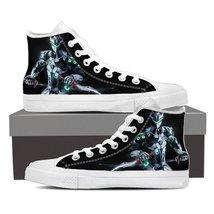 Overwatch Genji Cyborg Ninja Gaming Sneakers Converse Shoes - $59.99