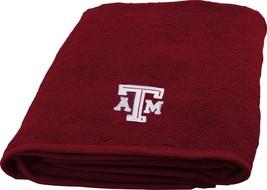 Texas A&M Aggies Bath Towel dimensions are 25 x 50 inches - $17.95