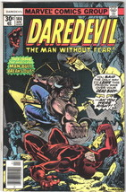 Daredevil Comic Book #144 Marvel Comics 1977 VERY FINE - $12.59