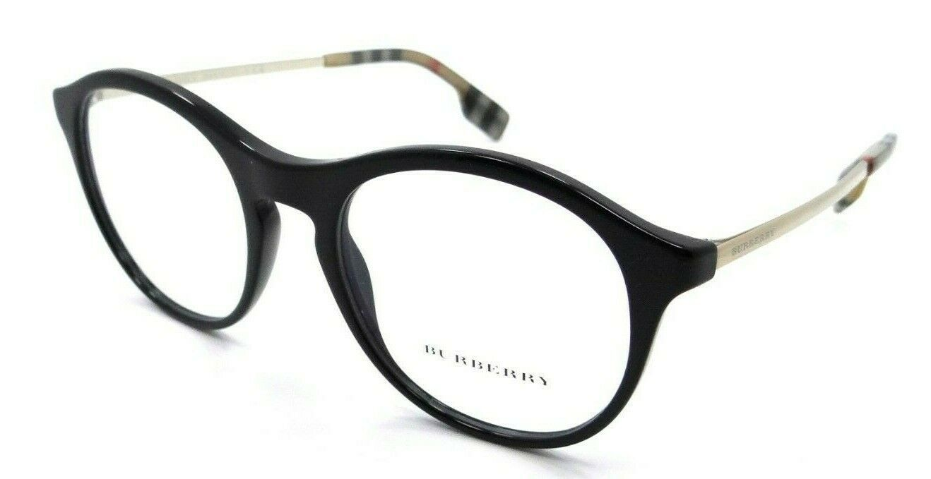 Primary image for Burberry Rx Eyeglasses Frames BE 2287 3001 50-19-140 Black Made in Italy