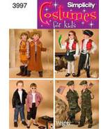 Simplicity Sewing Pattern 3987 Halloween Costume Pattern - $14.00
