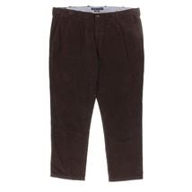 5913-2 Tommy Hilfiger Mens Jacob Straight Leg Corduroy Pants Brown 40/30 $69 - $45.36