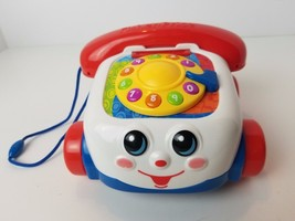 Fisher Price Chatter Phone Talking Game Push Button Telephone with Sounds - $12.13