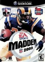 Madden NFL 2003 NGC - $7.91
