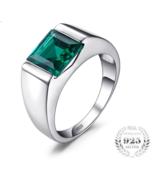 Classic Fashion 2.34ct Emerald Wedding Ring For Mens Set - $31.99