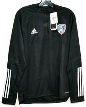 Adidas Condivo 20 Training Top United Soccer Coaches sz M NWT - $53.19