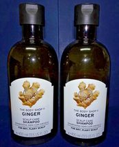 Two pack: The Body Shop Bodyshop Ginger Scalp Care Shampoo 400ml 13.5fl oz x2 - $64.00