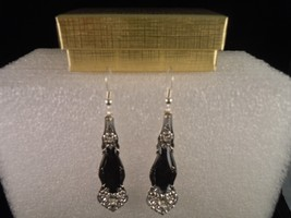 International Arbutus 1908 Earrings Silverplate - $47.21