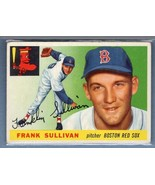 VINTAGE MLB 1955 TOPPS #106 FRANK SULLIVAN VG-EX SET BREAK - $10.75