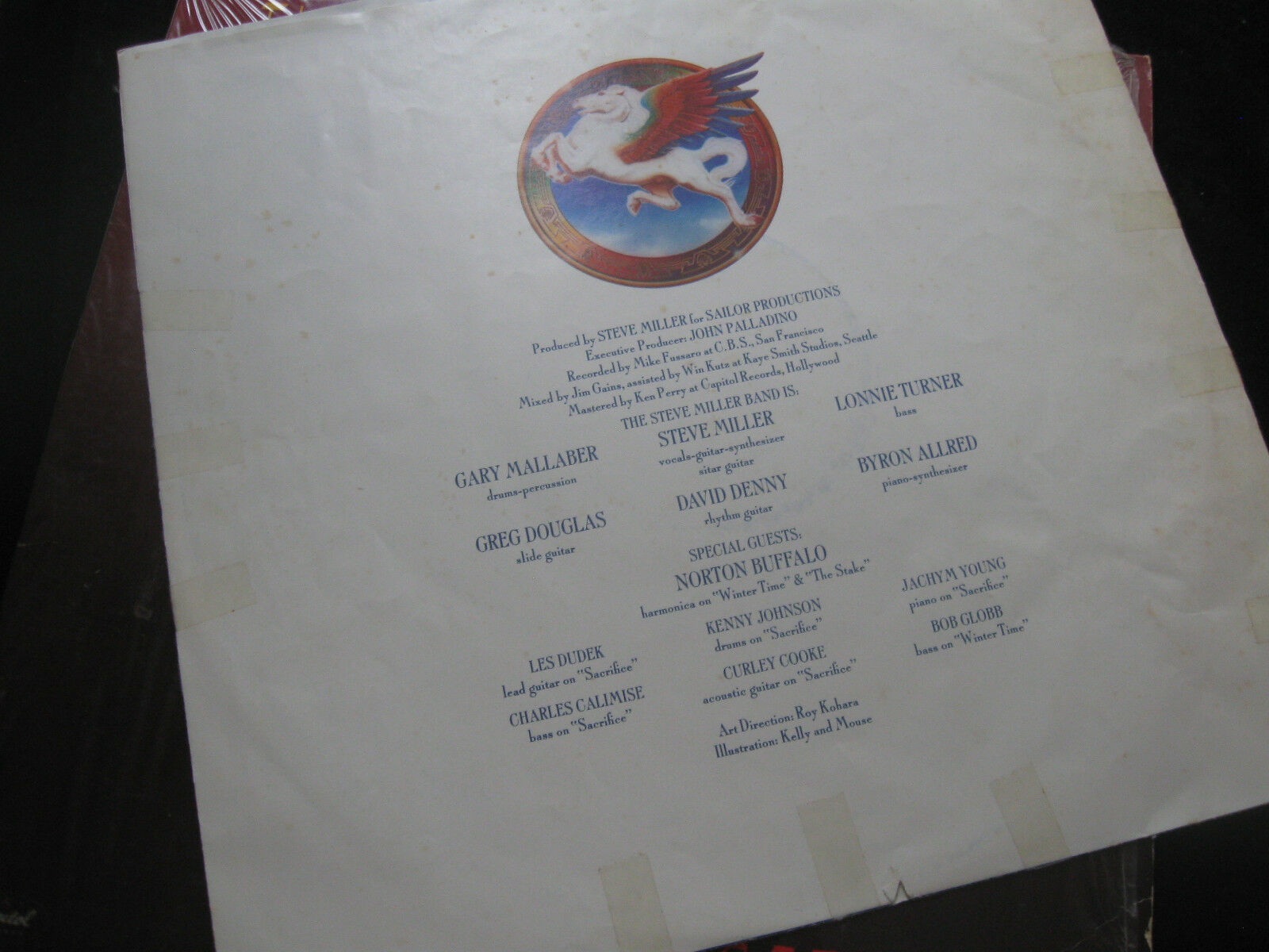 Steve Miller Band Book Of Dreams Capitol SQ-11630 Vinyl Record LP Open Shrink image 3