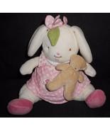 Bunnies by the Bay Blossom Small Plush Bunny Plush Stuffed Animal Bear D... - $17.80
