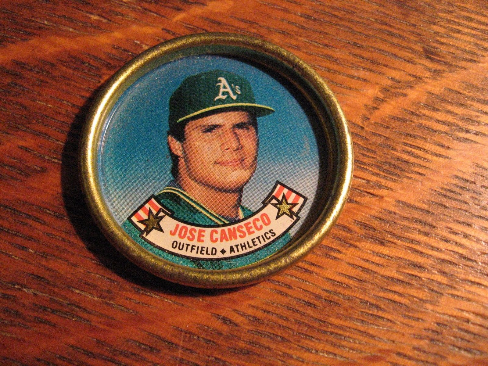 Jose Canseco Coin Insert Vintage 1988 And 15 Similar Items