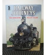 Railway Journeys - The Vanishing Age of Steam 5 Railroad DVD Set - $12.80