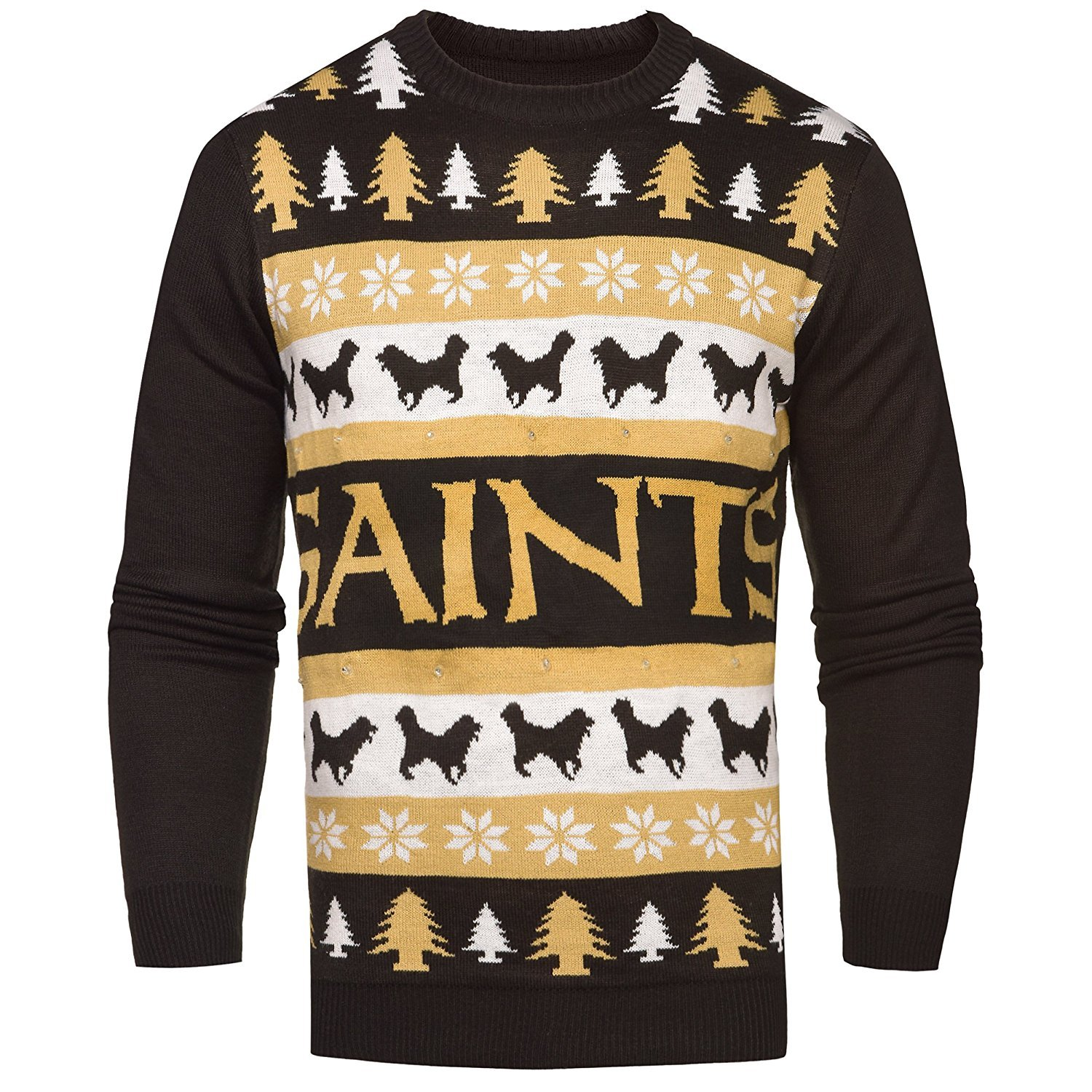 Primary image for NFL New Orleans Saints Light-Up One Too Many Ugly Sweater