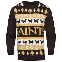 NFL New Orleans Saints Light-Up One Too Many Ugly Sweater - $34.95