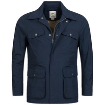 TIMBERLAND A1CNV-433 MOUNT WEBSTER MEN'S NAVY WATERPROOF FIELD JACKET - $90.99