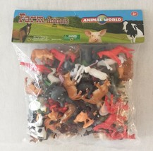 Big Mo's Toys Mini Plastic Educational Farm Animal World Toy - $15.88