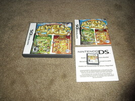 Jewels of the Ages (Nintendo DS, 2011) Complete with case and manual - $19.75