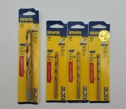 """(New) Irwin 1/2"""", 1/4"""" Titanium Drill Bit Set - $23.75"""
