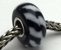 Authentic Trollbeads Ooak Universal Unique (165) Glass Bead Charm Fits All - $33.25