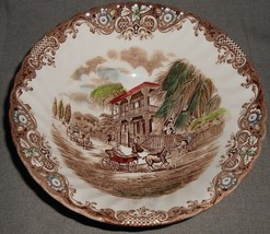 Johnson Brothers HERITAGE HALL PATTERN Round Vegetable or Serving Bowl - $23.75