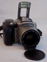 OLYMPUS IS-300 CAMERA 35MM Film 4X Zoom 28 110 High Power Flash - $25.73
