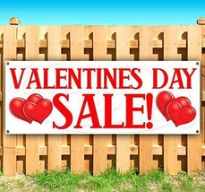 "Valentine's Day Greeting Banner 30"" X 80"" Wall Decoration with Hem and grommets - $39.44"