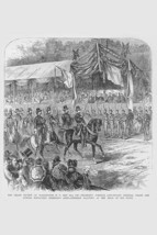 Grand Review in Washington, DC, Sherman's Army Saluting by Frank Leslie - Art Pr - $19.99+
