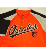 Baltimore Orioles Stitches Orange Jersey Baseball Men Sz L EUC - $49.99