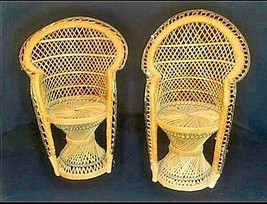 Wicker Chairs for Dolls AB 555 2 – Vintage image 2