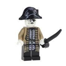 Lieutenant Lesaro Pirates of the Caribbean Minifigure Blocks for LEGO Br... - $8.99