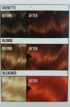 2X Clairol Colour Crave CANDY APPLE Semi Permanent Hair Dye WARM Orange Mahogany - $11.71