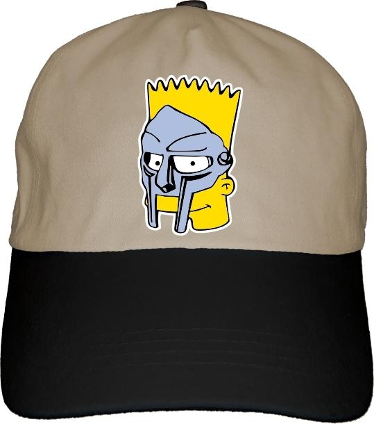 a21f665b1c214 BS MF Bart Doom Dad Hat Cap hip-hop