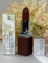 New In Box Mac Clinique Pop Matte Lip Colour + Primer - 10 CLOVE POP Fre... - $17.77