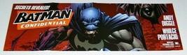 "2006 Batman Confidential DC Comics 34 by 11"" comic book promotional promo poster - $19.79"