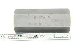 NEW FLUTEC RV-16-01.1/5 CHECK VALVE 5000 PSI