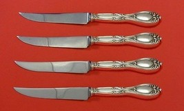 Victoria aka Florence by Frank Whiting Sterling Steak Knife Set 4pc Custom Made - $247.10