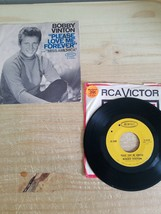 BOBBY VINTON Please Love Me Forever/Miss America 45 Record Epic Records ... - $4.99