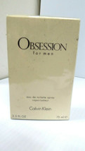 OBSESSION by Calvin Klein cologne for men EDT 2.5 oz New in Box - $19.59
